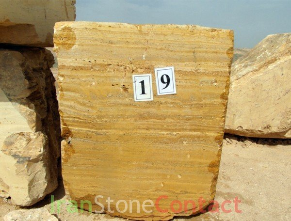 Yellow Lemon Travertine