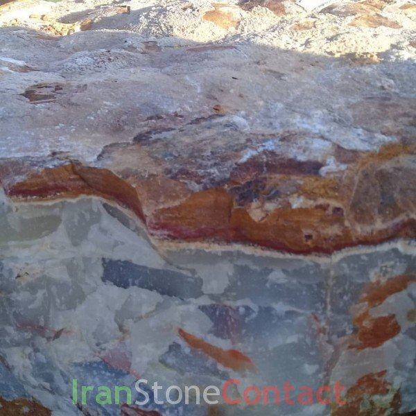 white red onyx Kerman