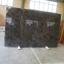wavy brown marble