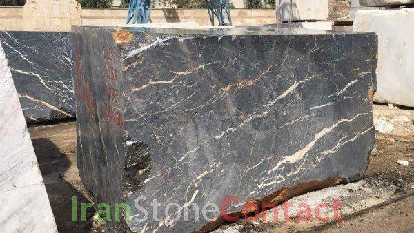 Nero Unique Marble Stone Quarry