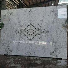 white marble slab