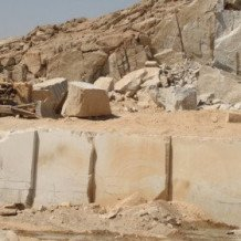 Travertine Quarry Komjan