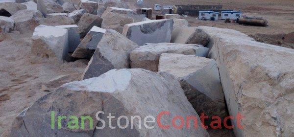 Marble Quarry Kashan/ Golden Black