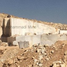 white crystaline marble Quarry